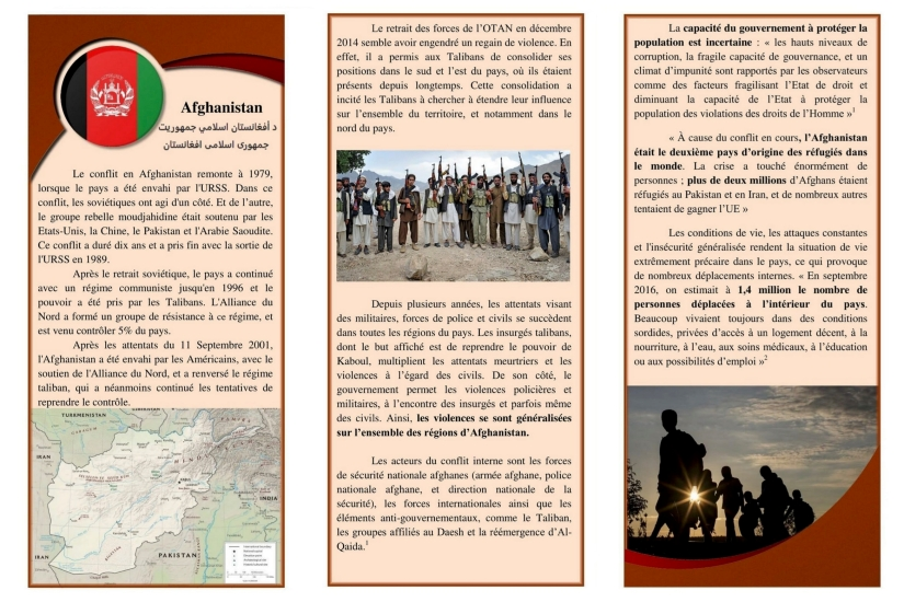 Fiches pays Afghanistan 2
